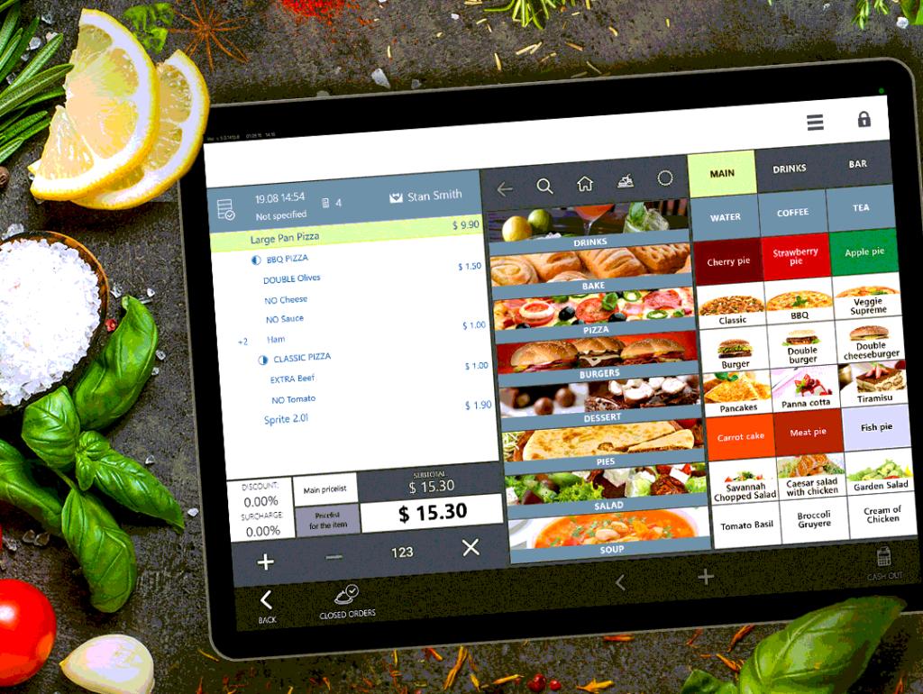 Разработка ресторанного приложения